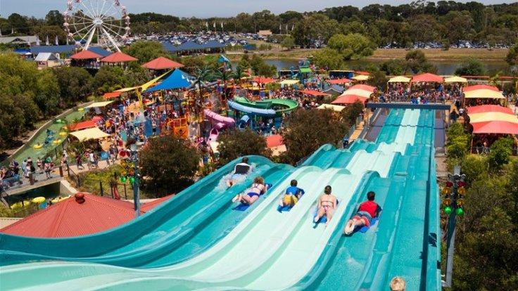 Children's adventure park at Wallington